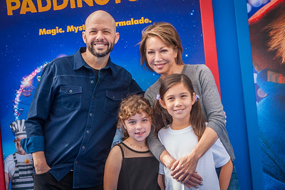 WESTWOOD, CA - JANUARY 06: (L-R) Actor Jon Cryer, guest, Daisy Cryer and Lisa Joyner attend the Los Angeles Premiere of 'Paddington 2' at Regency Village Theatre on Saturday January 6, 2018 in Westwood, California. (Photo by Tom Sorensen/Moovieboy Pictures)