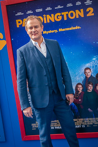 WESTWOOD, CA - JANUARY 06: Actor Hugh Bonneville attends the Los Angeles Premiere of 'Paddington 2' at Regency Village Theatre on Saturday January 6, 2018 in Westwood, California. (Photo by Tom Sorensen/Moovieboy Pictures)
