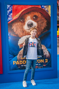 WESTWOOD, CA - JANUARY 06: Actor Parker Bates attends the Los Angeles Premiere of 'Paddington 2' at Regency Village Theatre on Saturday January 6, 2018 in Westwood, California. (Photo by Tom Sorensen/Moovieboy Pictures)