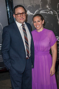 Actor PJ Byrne (L) and Jaime Nicole Padula attend the premiere of Warner Bros. Pictures' 'The 15:17 to Paris' at Warner Bros. Studios on Monday, February 5, 2018 in Burbank, California. (Photo by Tom Sorensen/Moovieboy Pictures)