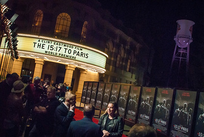 Atmosphere at the premiere of Warner Bros. Pictures' 'The 15:17 to Paris' at Warner Bros. Studios on Monday, February 5, 2018 in Burbank, California. (Photo by Tom Sorensen/Moovieboy Pictures)