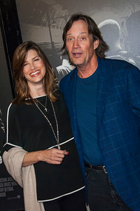 Actress Sam Sorbo (L) and actor Kevin Sorbo attend the premiere of Warner Bros. Pictures' 'The 15:17 to Paris' at Warner Bros. Studios on Monday, February 5, 2018 in Burbank, California. (Photo by Tom Sorensen/Moovieboy Pictures)