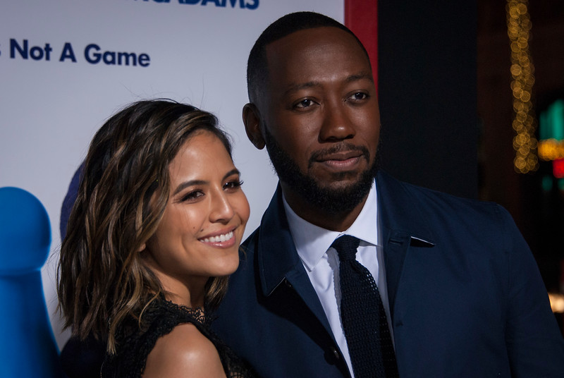 HOLLYWOOD, CA - FEBRUARY 21: Erin Lim and Lamorne Morris attend the premiere of New Line Cinema and Warner Bros. Pictures' 'Game Night' at TCL Chinese Theatre on Wednesday, February 21, 2018 in Hollywood, California. (Photo by Tom Sorensen/Moovieboy Pictures)