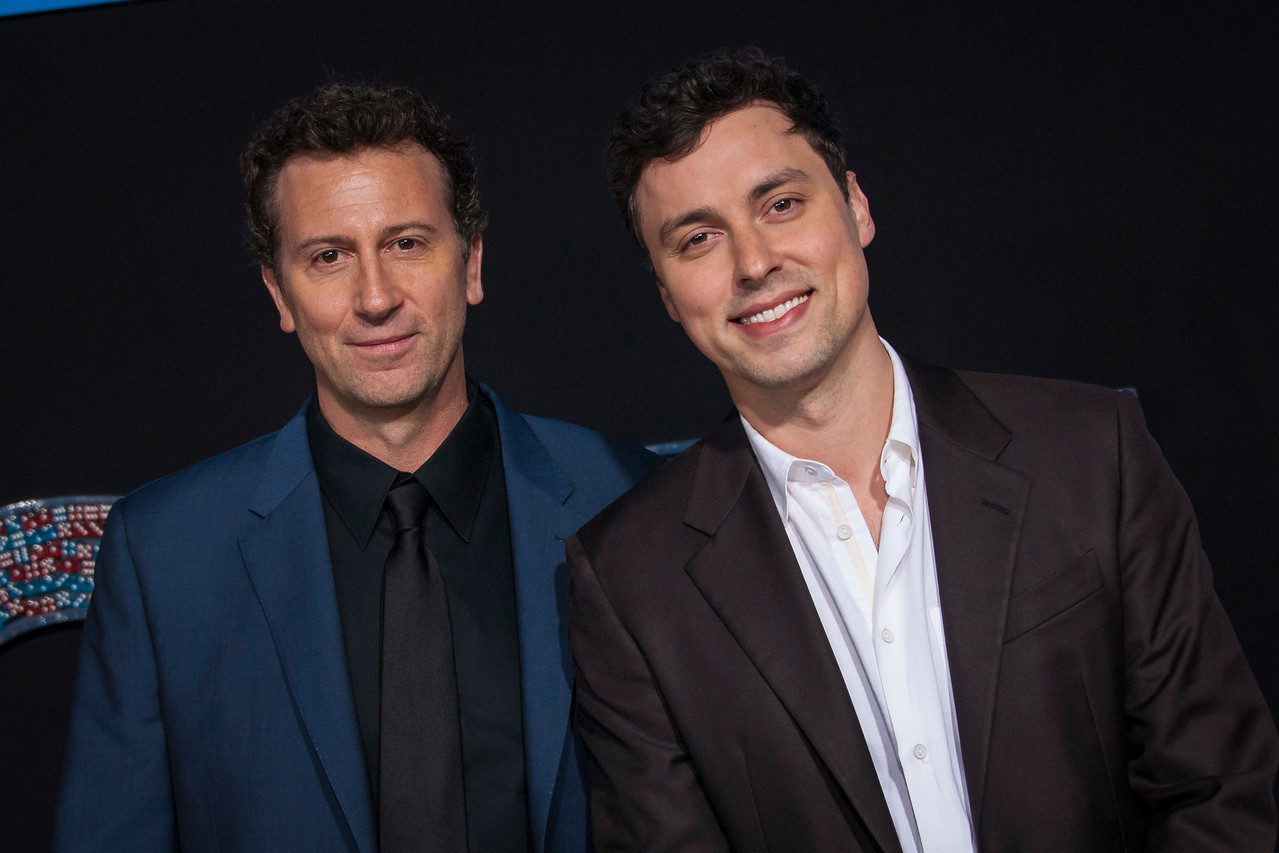 HOLLYWOOD, CA - FEBRUARY 21: Jonathan Goldstein and John Francis Daley attend the premiere of New Line Cinema and Warner Bros. Pictures' 'Game Night' at TCL Chinese Theatre on Wednesday, February 21, 2018 in Hollywood, California. (Photo by Tom Sorensen/Moovieboy Pictures)
