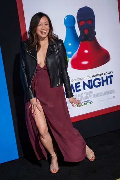 HOLLYWOOD, CA - FEBRUARY 21: Camille Chen attends the premiere of New Line Cinema and Warner Bros. Pictures' 'Game Night' at TCL Chinese Theatre on Wednesday, February 21, 2018 in Hollywood, California. (Photo by Tom Sorensen/Moovieboy Pictures)