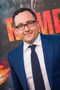 LOS ANGELES, CA - APRIL 04: P. J. Byrne arrives at the Premiere Of Warner Bros. Pictures' 'Rampage' at Microsoft Theater on Wednesday April 4, 2018 in Los Angeles, California. (Photo by Tom Sorensen/Moovieboy Pictures)