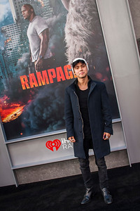LOS ANGELES, CA - APRIL 04: Mario Ruiz arrives at the Premiere Of Warner Bros. Pictures' 'Rampage' at Microsoft Theater on Wednesday April 4, 2018 in Los Angeles, California. (Photo by Tom Sorensen/Moovieboy Pictures)