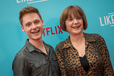 HOLLYWOOD, CA - JULY 31: Miles Tagtmeyer and Lee Garlington arrive at the Premiere Of Netflix's 'Like Father' at ArcLight Hollywood on Tuesday, July 31, 2018 in Hollywood, California. (Photo by Tom Sorensen/Moovieboy Pictures)
