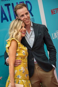 HOLLYWOOD, CA - JULY 31: Brittany Ross and Marco Naggar arrive at the Premiere Of Netflix's 'Like Father' at ArcLight Hollywood on Tuesday, July 31, 2018 in Hollywood, California. (Photo by Tom Sorensen/Moovieboy Pictures)
