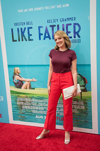 HOLLYWOOD, CA - JULY 31: Jen Zaborowski arrives at the Premiere Of Netflix's 'Like Father' at ArcLight Hollywood on Tuesday, July 31, 2018 in Hollywood, California. (Photo by Tom Sorensen/Moovieboy Pictures)