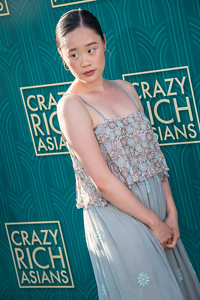 HOLLYWOOD, CA - AUGUST 07: Michele Selene Ang arrives at Warner Bros. Pictures' 'Crazy Rich Asians' Premiere at TCL Chinese Theatre IMAX on Tuesday, August 7, 2018 in Hollywood, California. (Photo by Tom Sorensen/Moovieboy Pictures)