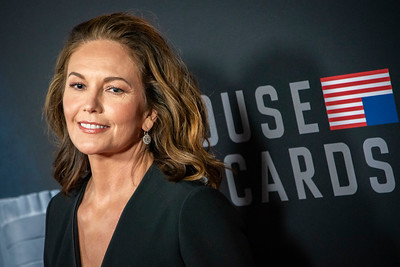 LOS ANGELES, CA - OCTOBER 22: Diane Lane attends the Los Angeles premiere screening of Netflix's 'House Of Cards' Season 6 held at DGA Theater on Monday October 22, 2018 in Los Angeles, California. (Photo by Tom Sorensen/Moovieboy Pictures)