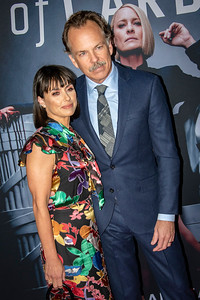LOS ANGELES, CA - OCTOBER 22: Constance Zimmer and Russ Lamoureux attend the Los Angeles premiere screening of Netflix's 'House Of Cards' Season 6 held at DGA Theater on Monday October 22, 2018 in Los Angeles, California. (Photo by Tom Sorensen/Moovieboy Pictures)
