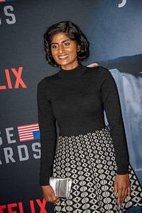 LOS ANGELES, CA - OCTOBER 22: Kumari attends the Los Angeles premiere screening of Netflix's 'House Of Cards' Season 6 held at DGA Theater on Monday October 22, 2018 in Los Angeles, California. (Photo by Tom Sorensen/Moovieboy Pictures)