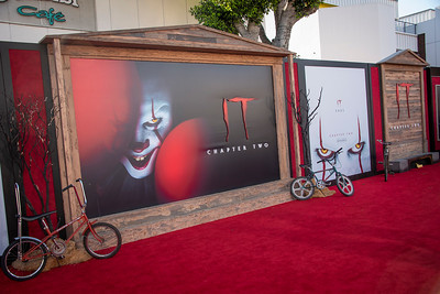 "WESTWOOD, CA - AUGUST 26: Atmosphere at the Premiere Of Warner Bros. Pictures' ""It Chapter Two"" at Regency Village Theatre on Monday, August 26, 2019 in Westwood, California. (Photo by Tom Sorensen/Moovieboy Pictures)"