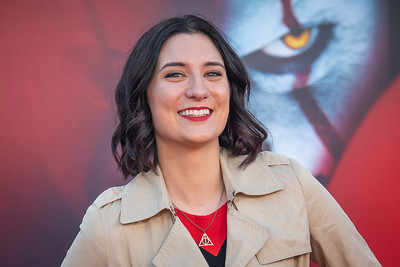 "WESTWOOD, CA - AUGUST 26: Anna Brisbin attends the Premiere Of Warner Bros. Pictures' ""It Chapter Two"" at Regency Village Theatre on Monday, August 26, 2019 in Westwood, California. (Photo by Tom Sorensen/Moovieboy Pictures)"