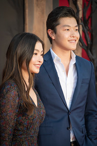 "WESTWOOD, CA - AUGUST 26: Maia Shibutani and Alex Shibutani attend the Premiere Of Warner Bros. Pictures' ""It Chapter Two"" at Regency Village Theatre on Monday, August 26, 2019 in Westwood, California. (Photo by Tom Sorensen/Moovieboy Pictures)"