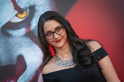 "WESTWOOD, CA - AUGUST 26: Paola Del Castillo attends the Premiere Of Warner Bros. Pictures' ""It Chapter Two"" at Regency Village Theatre on Monday, August 26, 2019 in Westwood, California. (Photo by Tom Sorensen/Moovieboy Pictures)"