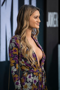 "HOLLYWOOD, CALIFORNIA - SEPTEMBER 28: Jenah Yamamoto attends the premiere of Warner Bros Pictures ""Joker"" on Saturday, September 28, 2019 in Hollywood, California. (Photo by Tom Sorensen/Moovieboy Pictures)"