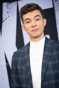 "HOLLYWOOD, CALIFORNIA - SEPTEMBER 28: Motoki Maxted attends the premiere of Warner Bros Pictures ""Joker"" on Saturday, September 28, 2019 in Hollywood, California. (Photo by Tom Sorensen/Moovieboy Pictures)"
