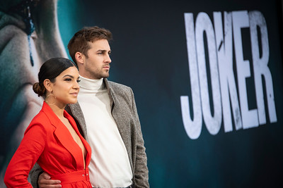 "HOLLYWOOD, CALIFORNIA - SEPTEMBER 28: Alexys Gabrielle and Cody Johns attend the premiere of Warner Bros Pictures ""Joker"" on Saturday, September 28, 2019 in Hollywood, California. (Photo by Tom Sorensen/Moovieboy Pictures)"