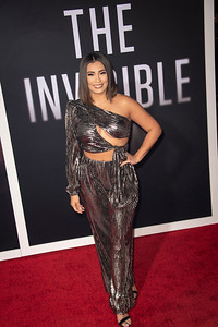 """HOLLYWOOD, CALIFORNIA - FEBRUARY 24: Sandra Gutierrez attends the Premiere of Universal Pictures' """"The Invisible Man"""" at TCL Chinese Theatre on Monday, February 24, 2020 in Hollywood, California. (Photo by Tom Sorensen/Moovieboy Pictures)"""