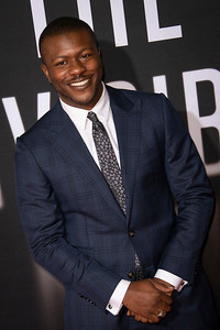 """HOLLYWOOD, CALIFORNIA - FEBRUARY 24: Edwin Hodge attends the Premiere of Universal Pictures' """"The Invisible Man"""" at TCL Chinese Theatre on Monday, February 24, 2020 in Hollywood, California. (Photo by Tom Sorensen/Moovieboy Pictures)"""