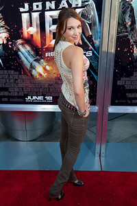 HOLLYWOOD - JUNE 17: Actress Ashley Edner arrives at the 'Jonah Hex' Los Angeles Premiere held at ArcLight Cinemas Cinerama Dome on June 17, 2010 in Hollywood, California. (Photo by Tom Sorensen/Moovieboy Pictures)