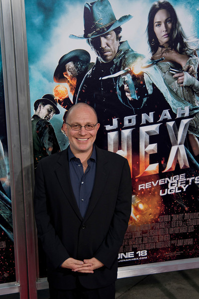 HOLLYWOOD - JUNE 17: Producer Akiva Goldsman arrives at the 'Jonah Hex' Los Angeles Premiere held at ArcLight Cinemas Cinerama Dome on June 17, 2010 in Hollywood, California. (Photo by Tom Sorensen/Moovieboy Pictures)