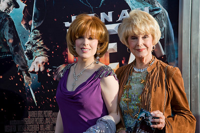 HOLLYWOOD - JUNE 17: Actresses Karen Kramer (R) and Kat Kramer arrive  at the 'Jonah Hex' Los Angeles Premiere held at ArcLight Cinemas Cinerama Dome on June 17, 2010 in Hollywood, California. (Photo by Tom Sorensen/Moovieboy Pictures)