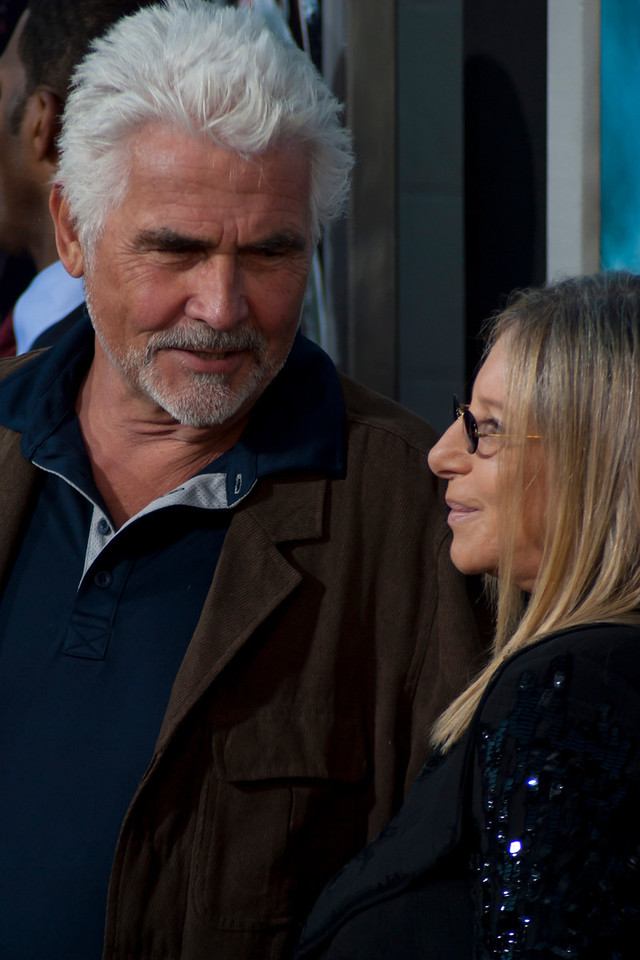 HOLLYWOOD - JUNE 17: Actor James Brolin and singer Barbara Streisand arrive at the 'Jonah Hex' Los Angeles Premiere held at ArcLight Cinemas Cinerama Dome on June 17, 2010 in Hollywood, California. (Photo by Tom Sorensen/Moovieboy Pictures)