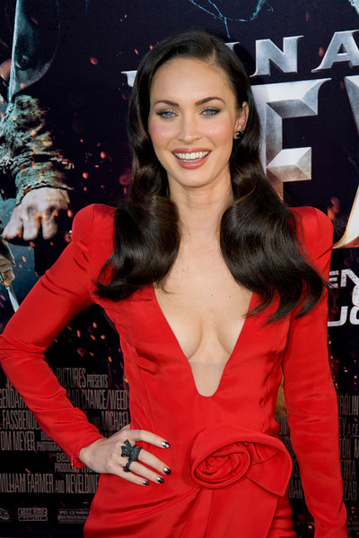 HOLLYWOOD - JUNE 17: Actress Megan Fox arrives at the 'Jonah Hex' Los Angeles Premiere held at ArcLight Cinemas Cinerama Dome on June 17, 2010 in Hollywood, California. (Photo by Tom Sorensen/Moovieboy Pictures)