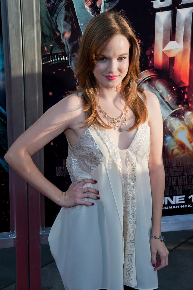 HOLLYWOOD - JUNE 17: Actress Danielle Panabaker arrives at the 'Jonah Hex' Los Angeles Premiere held at ArcLight Cinemas Cinerama Dome on June 17, 2010 in Hollywood, California. (Photo by Tom Sorensen/Moovieboy Pictures)