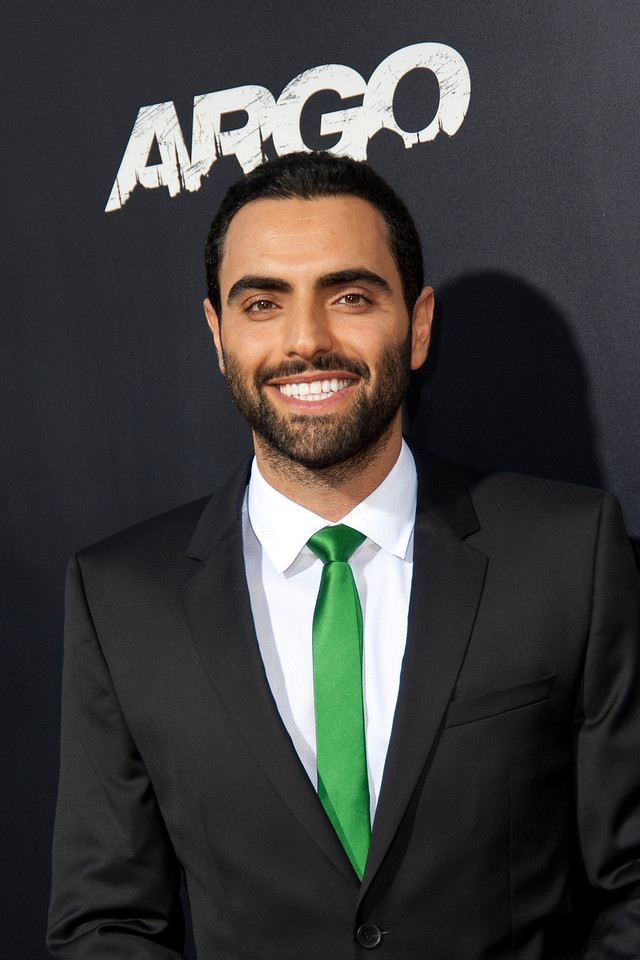 """BEVERLY HILLS, CA - OCTOBER 04: Actor Farshad Farahat arrives at the premiere of Warner Bros. Pictures' """"Argo"""" at AMPAS Samuel Goldwyn Theater onThursday, October 4, 2012 in Beverly Hills, California. (Photo by Tom Sorensen/Moovieboy Pictures)"""