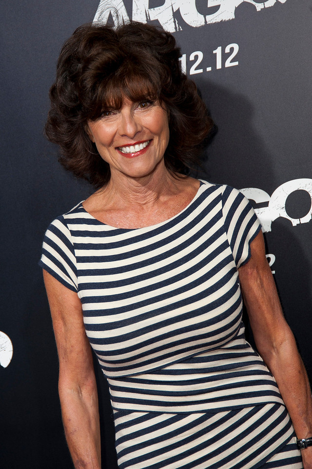 """BEVERLY HILLS, CA - OCTOBER 04: Actress Adrienne Barbeau arrives at the premiere of Warner Bros. Pictures' """"Argo"""" at AMPAS Samuel Goldwyn Theater onThursday, October 4, 2012 in Beverly Hills, California. (Photo by Tom Sorensen/Moovieboy Pictures)"""
