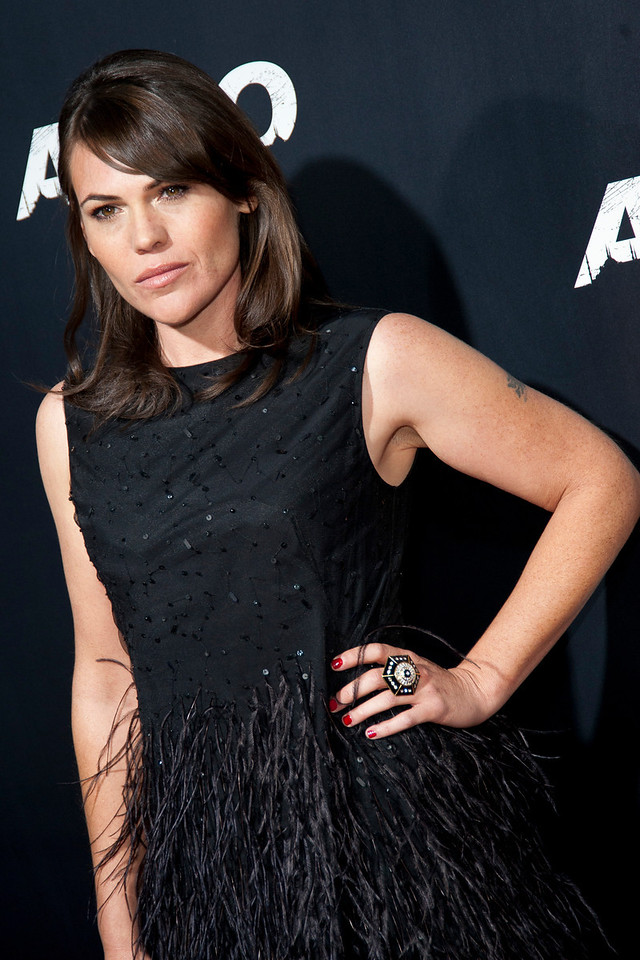 """BEVERLY HILLS, CA - OCTOBER 04: Actress Clea DuVall arrives at the premiere of Warner Bros. Pictures' """"Argo"""" at AMPAS Samuel Goldwyn Theater onThursday, October 4, 2012 in Beverly Hills, California. (Photo by Tom Sorensen/Moovieboy Pictures)"""
