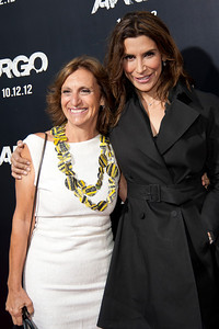 "BEVERLY HILLS, CA - OCTOBER 04: Actress Jo Champa (R) and Silvia Bizio arrive at the premiere of Warner Bros. Pictures' ""Argo"" at AMPAS Samuel Goldwyn Theater onThursday, October 4, 2012 in Beverly Hills, California. (Photo by Tom Sorensen/Moovieboy Pictures)"