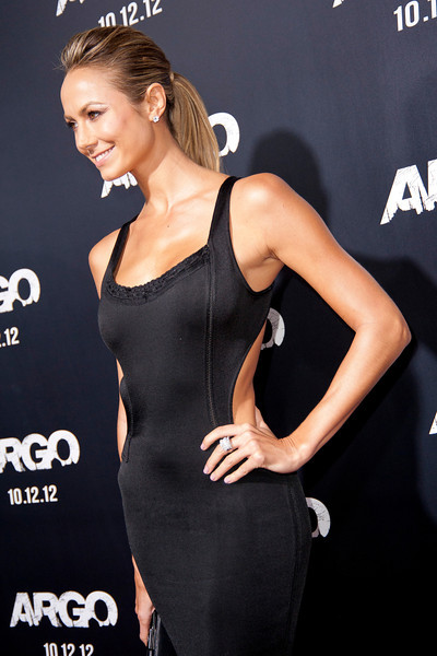 """BEVERLY HILLS, CA - OCTOBER 04: Stecy Keibler arrives at the premiere of Warner Bros. Pictures' """"Argo"""" at AMPAS Samuel Goldwyn Theater onThursday, October 4, 2012 in Beverly Hills, California. (Photo by Tom Sorensen/Moovieboy Pictures)"""