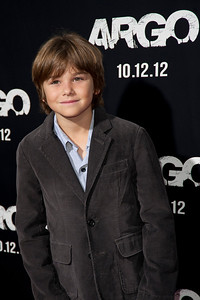 """BEVERLY HILLS, CA - OCTOBER 04: Actor Aidan Sussman arrives at the premiere of Warner Bros. Pictures' """"Argo"""" at AMPAS Samuel Goldwyn Theater onThursday, October 4, 2012 in Beverly Hills, California. (Photo by Tom Sorensen/Moovieboy Pictures)"""