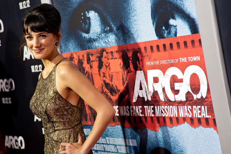"""BEVERLY HILLS, CA - OCTOBER 04: Actress Sheila Vand arrives at the premiere of Warner Bros. Pictures' """"Argo"""" at AMPAS Samuel Goldwyn Theater onThursday, October 4, 2012 in Beverly Hills, California. (Photo by Tom Sorensen/Moovieboy Pictures)"""