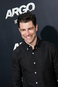"BEVERLY HILLS, CA - OCTOBER 04: Actor Max Greenfield arrives at the premiere of Warner Bros. Pictures' ""Argo"" at AMPAS Samuel Goldwyn Theater onThursday, October 4, 2012 in Beverly Hills, California. (Photo by Tom Sorensen/Moovieboy Pictures)"