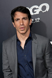"BEVERLY HILLS, CA - OCTOBER 04: Actor Chris Messina arrives at the premiere of Warner Bros. Pictures' ""Argo"" at AMPAS Samuel Goldwyn Theater onThursday, October 4, 2012 in Beverly Hills, California. (Photo by Tom Sorensen/Moovieboy Pictures)"