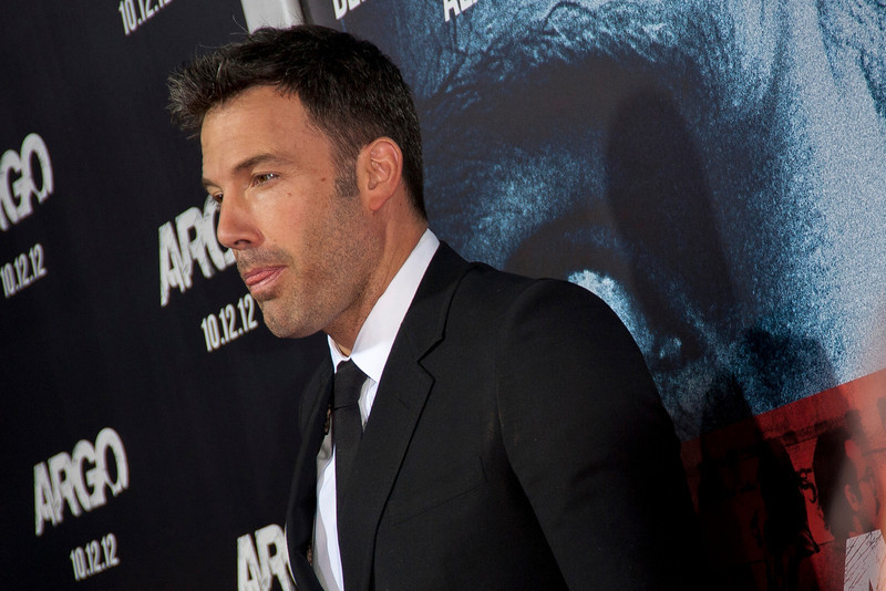 """BEVERLY HILLS, CA - OCTOBER 04: Actor/director/producer Ben Affleck arrives at the premiere of Warner Bros. Pictures' """"Argo"""" at AMPAS Samuel Goldwyn Theater onThursday, October 4, 2012 in Beverly Hills, California. (Photo by Tom Sorensen/Moovieboy Pictures)"""