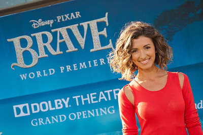 HOLLYWOOD, CA - JUNE 18: Actress India de Beaufort arrives at Disney Pixar's 'Brave' World Premiere at Dolby Theatre on June 18, 2012 in Hollywood, California. (Photo by Tom Sorensen/Moovieboy Pictures)