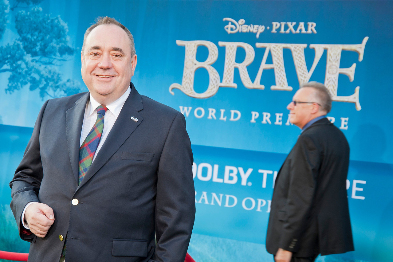 HOLLYWOOD, CA - JUNE 18: First Minister of Scotland Alex Salmond arrives at Disney Pixar's 'Brave' World Premiere at Dolby Theatre on June 18, 2012 in Hollywood, California. (Photo by Tom Sorensen/Moovieboy Pictures)