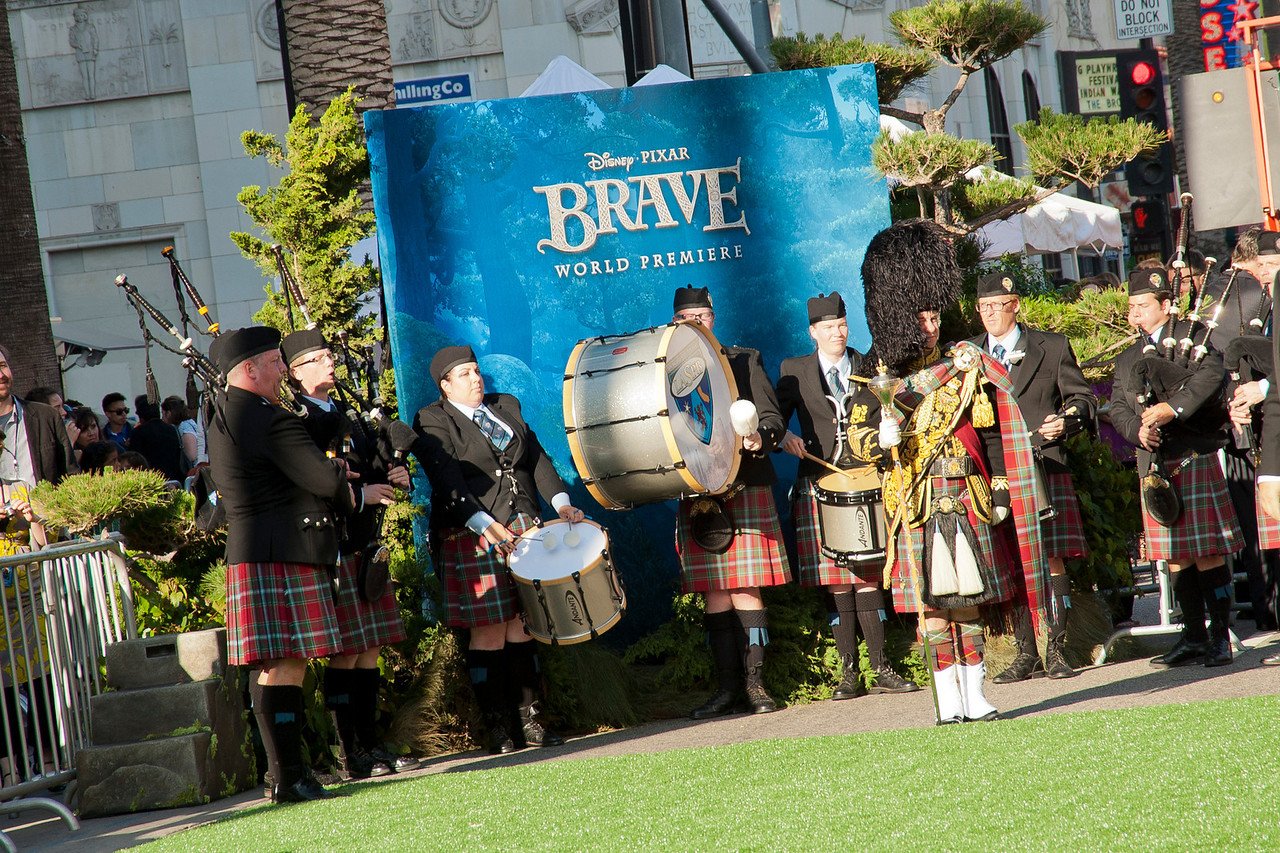 HOLLYWOOD, CA - JUNE 18: Atmosphere at Disney Pixar's 'Brave' World Premiere at Dolby Theatre on June 18, 2012 in Hollywood, California. (Photo by Tom Sorensen/Moovieboy Pictures)