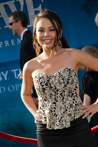HOLLYWOOD, CA - JUNE 18: Actress Janel Parrish arrives at Disney Pixar's 'Brave' World Premiere at Dolby Theatre on June 18, 2012 in Hollywood, California. (Photo by Tom Sorensen/Moovieboy Pictures)