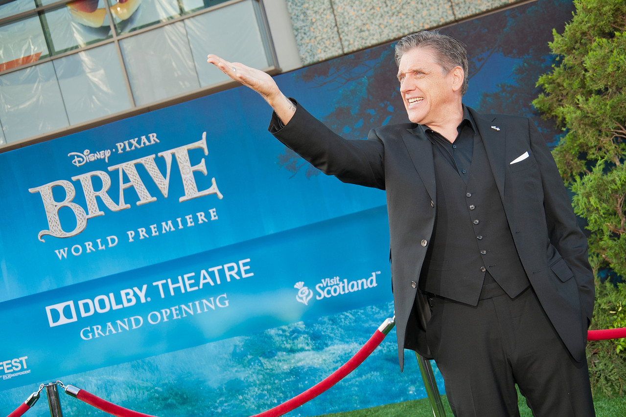 HOLLYWOOD, CA - JUNE 18: Actor Craig Ferguson arrives at Disney Pixar's 'Brave' World Premiere at Dolby Theatre on June 18, 2012 in Hollywood, California. (Photo by Tom Sorensen/Moovieboy Pictures)