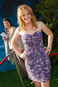 HOLLYWOOD, CA - JUNE 18: Actress Katie Leclerc arrives at Disney Pixar's 'Brave' World Premiere at Dolby Theatre on June 18, 2012 in Hollywood, California. (Photo by Tom Sorensen/Moovieboy Pictures)