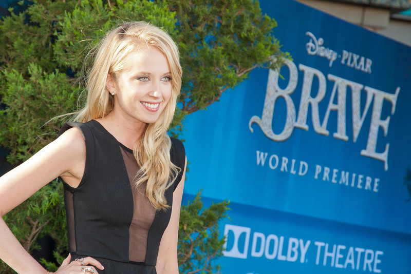 HOLLYWOOD, CA - JUNE 18: Actress Megan Park arrives at Disney Pixar's 'Brave' World Premiere at Dolby Theatre on June 18, 2012 in Hollywood, California. (Photo by Tom Sorensen/Moovieboy Pictures)